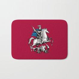 Flag of moscow Bath Mat