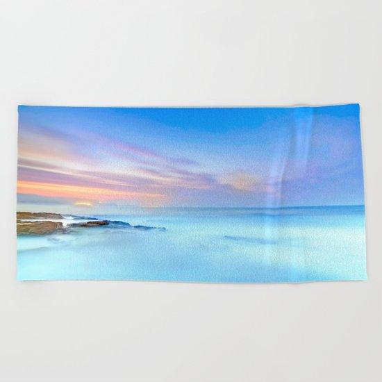Pastel Vibes Beach Towel