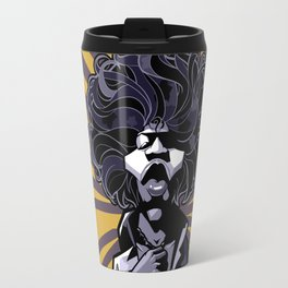 purple haze Hendrix Travel Mug