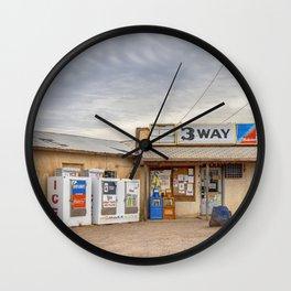 3 Way, Arizona Wall Clock