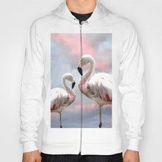 Flamingo Skies Hoody