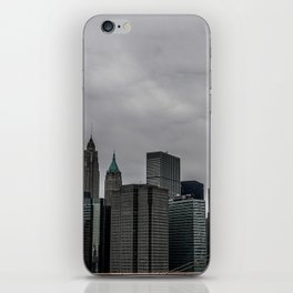 NYC Cityscape View iPhone Skin