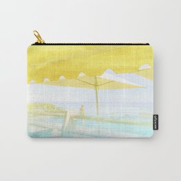 Salad on a patio. By Priscilla Li Carry-All Pouch