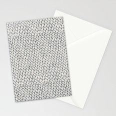 Hand Knit Grey Stationery Cards