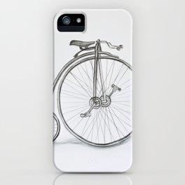 Vintage retro bicycle iPhone Case