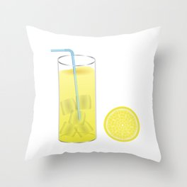 Making Lemonade Throw Pillow