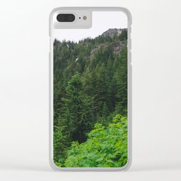 Falls in the Hills Clear iPhone Case