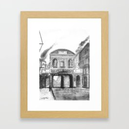 Temple Bar Gate (1870 - London) Framed Art Print