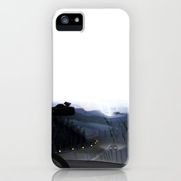 Freedom and Blue iPhone Case