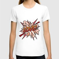 comic book T-shirts featuring Comic Book LOVE! by Thisisnotme