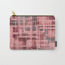 Negative Film Red Pink Pattern Abstract Carry-All Pouch