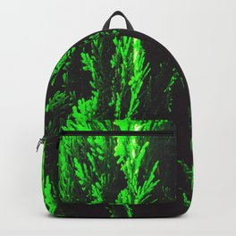 closeup green leaf texture abstract background Backpack