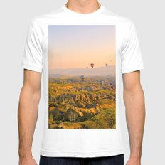 High Life White Mens Fitted Tee MEDIUM