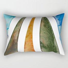 Lava Flow Rectangular Pillow
