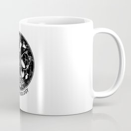 Distressed Meowcrobiology Coffee Mug
