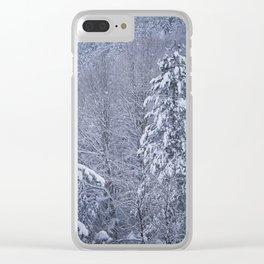 delineated Clear iPhone Case