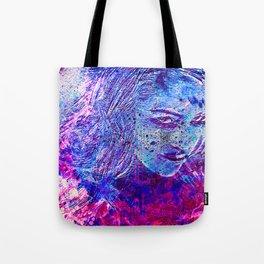 Lustful glance (blue) Tote Bag