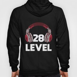 Gamer Gaming 28th Birthday Present Video Game Hoody