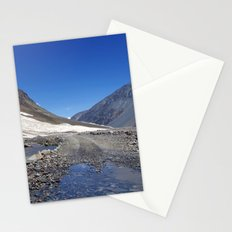 Puddle on the Road in Lahaul Valley Stationery Cards