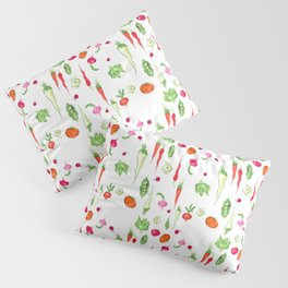 Veggie Party Pattern Pillow Sham
