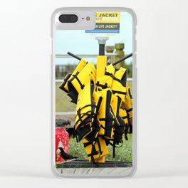 Life Jacket Station Clear iPhone Case
