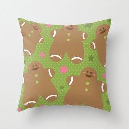 Sweet Xmas Throw Pillow