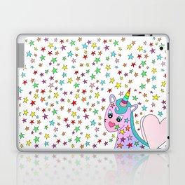 Rainbow the Unicorn Starstruck Laptop & iPad Skin