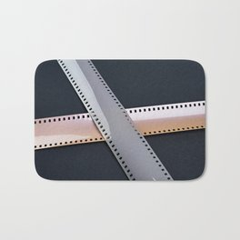 Two 35mm photographic film Bath Mat
