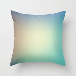 GULF / Plain Soft Mood Color Blends / iPhone Case Throw Pillow