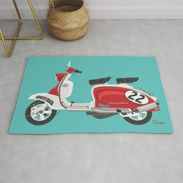 Scooter 22 Racer Rug