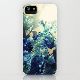 Sunny Blue iPhone Case
