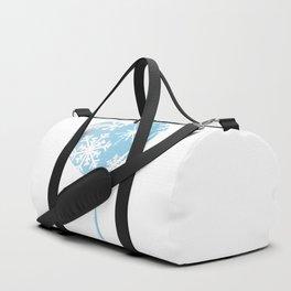 Melting Ice Heart Duffle Bag