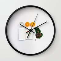 infinite Wall Clocks featuring Infinite by Adrian Lungu