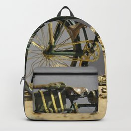 Old bicycle Zvonekmakete Backpack