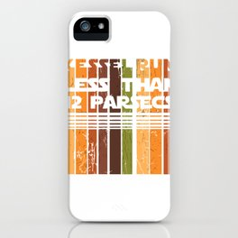 Kessel Retro Run iPhone Case
