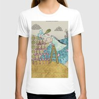 glass T-shirts featuring Glass by Loezelot