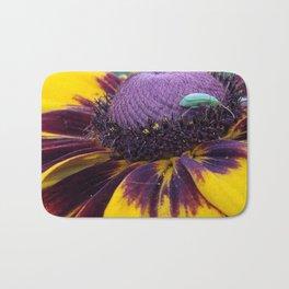 Colorful coneflower Bath Mat