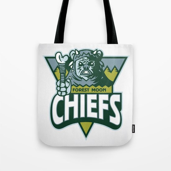Forest Moon Chiefs Tote Bag