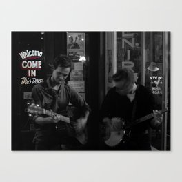 Music City Buskers Canvas Print