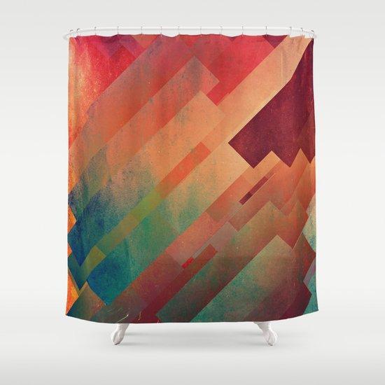 slyb ynvyrtz Shower Curtain