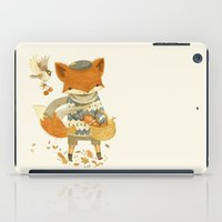 fruit iPad Cases featuring Fritz the Fruit-Foraging Fox by Teagan White