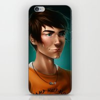 percy jackson iPhone & iPod Skins featuring Percy Jackson by spookzilla