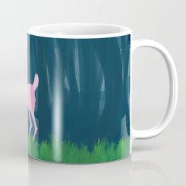 Pink Deer Coffee Mug
