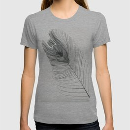 Monochrome Feather T-shirt