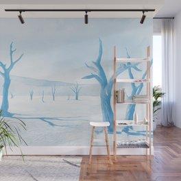 deadvlei desert trees acrwb Wall Mural