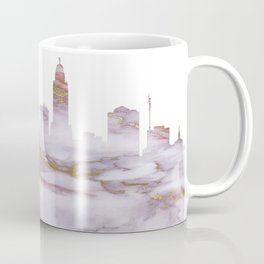 Lincoln Skyline Nebraska Coffee Mug