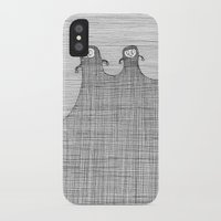 inner demons iPhone & iPod Cases featuring Demons by twmmorgan