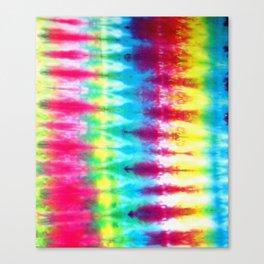 Boho Tie Dye Canvas Print