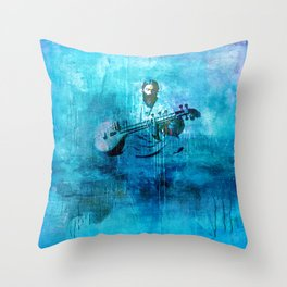Sound of Silence Throw Pillow