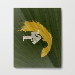 For Charlie (Homage To Guile) Metal Print